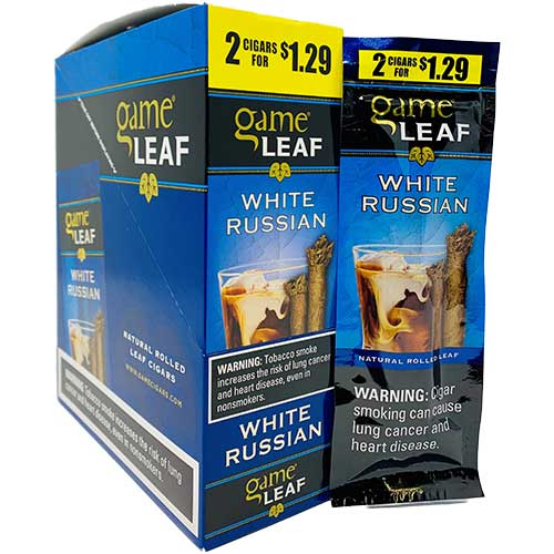 Game Leaf Cigarillos White Russian 15ct