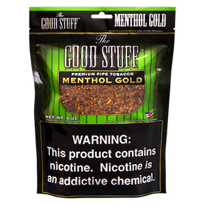 The Good Stuff Menthol Gold Pipe Tobacco 6oz