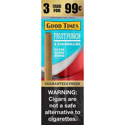 Good Times Cigarillos Fruit Punch 15ct