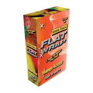 Good Times Flat Wrap Mangolicious 25ct Box