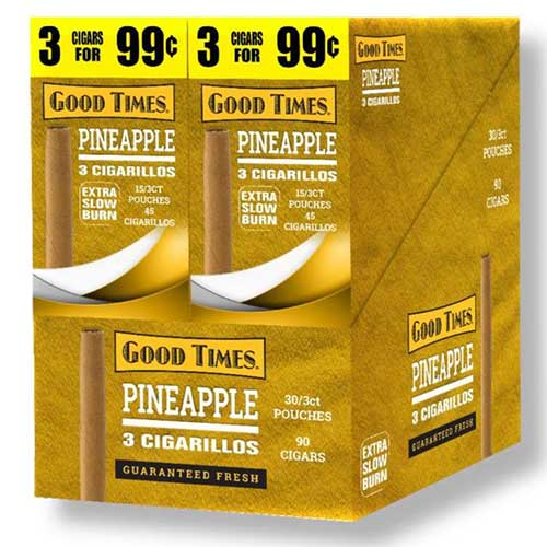 Good Times Cigarillos Pineapple 30ct