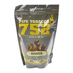 752 Degrees Silver 16oz Pipe Tobacco
