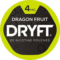 DRYFT Nicotine Pouches Dragon Fruit 4mg 5ct