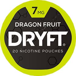 DRYFT Nicotine Pouches Dragon Fruit 7mg 5ct