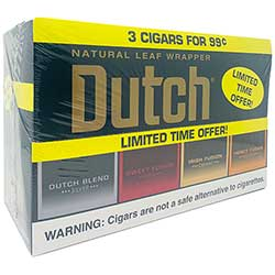 Dutch Masters Cigarillos Combo Box