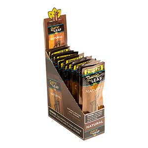 Game Leaf Cigarillos Natural 15ct