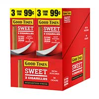 Good Times Cigarillos Sweet 30ct