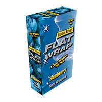 Good Times Flat Wrap Blueberry 25ct Box