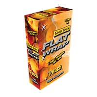 Good Times Flat Wrap Peach 25ct Box