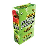 Good Times Flat Wrap Sour Apple 25ct Box