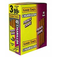Good Times Cigarillos French Grape 15ct