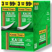 Good Times Cigarillos Kash 30ct