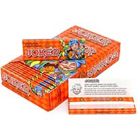 Joker Orange Slow Burn 1 1 4 Rolling Papers 24ct Box