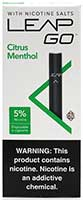 Leap Go Citrus Menthol Disposable