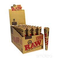 RAW Classic Cones King Size 32ct Box