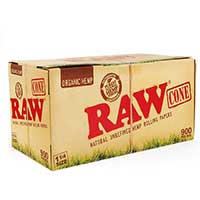 RAW Organic Cones 1 1 4 32ct Box