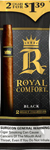 ROYAL COMFORT CIGARILLOS BLACK 2  $0.99 15CT BOX