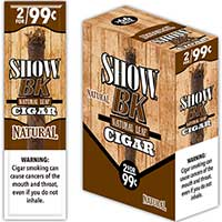 Show Cigarillos BK Natural 15 2pks