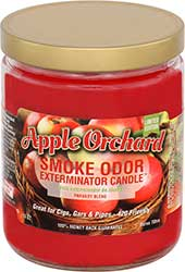 Smoke Odor Exterminator Candle Apple Orchard