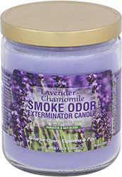 Smoke Odor Exterminator Candle Lavender and Chamomile