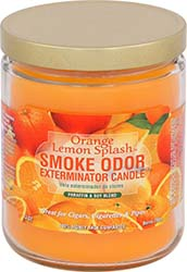 Smoke Odor Exterminator Candle Orange Lemon Splash