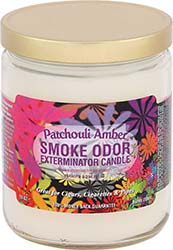 Smoke Odor Exterminator Candle Patchouli Amber