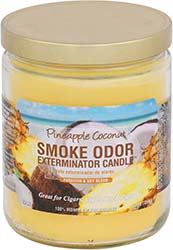Smoke Odor Exterminator Candle Pineapple Coconut