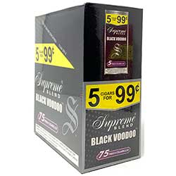 Supreme Blend Cigarillos Black Voodoo 15ct