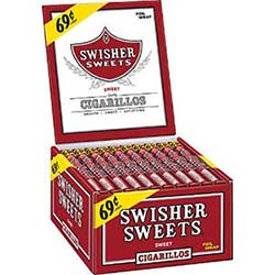 Swisher Sweets Cigarillos Regular 60ct Box