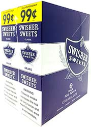 Swisher Sweets Cigarillos Grape