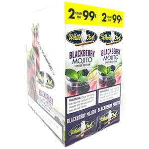 White Owl Cigarillos Blackberry Mojito 30ct