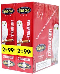 White Owl Cigarillos Strawberry 30ct