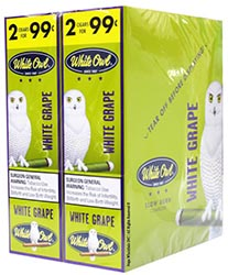White Owl Cigarillos White Grape 30ct