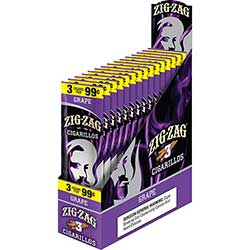 Zig Zag Cigarillos Grape 15 3pks
