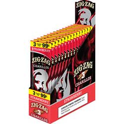 Zig Zag Cigarillos Strawberry 15 3pks