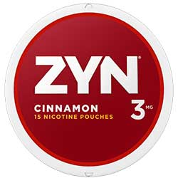 ZYN Nicotine Pouches Cinnamon 3mg 5ct