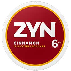 ZYN Nicotine Pouches Cinnamon 6mg 5ct
