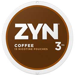 ZYN Nicotine Pouches Coffee 3mg 5ct