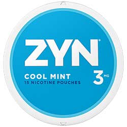 ZYN Nicotine Pouches Cool Mint 3mg 5ct