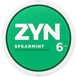 ZYN Nicotine Pouches Spearmint 6mg 5ct