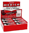 Medico Pipe Filters 2 1 4 12 boxes of 10 each