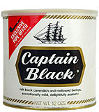 Captain Black Pipe Tobacco 12oz Can