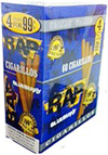 Rap Cigarillos Blueberry 4 $0.99 15ct Box