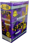 Rap Cigarillos Grape 4 $0.99 15ct Box