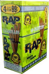 Rap Cigarillos White Grape 4 $0.99 15ct Box