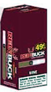 Red Buck Cigarillo Wine P.P. $0.49 25Ct
