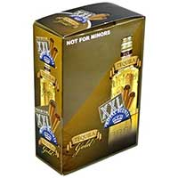 Royal Blunts XXL Cigar Wraps Tequila Gold 25 2 Packs