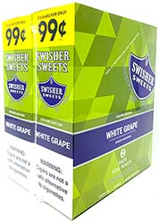 Swisher Sweets Cigarillos White Grape 30ct