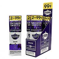 Swisher Sweets Cigarillos Grape 30ct