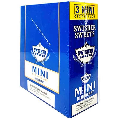 Swisher Sweets Mini Cigarillos Blueberry 15ct